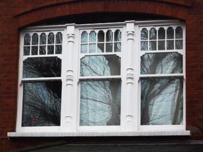window in conservation area